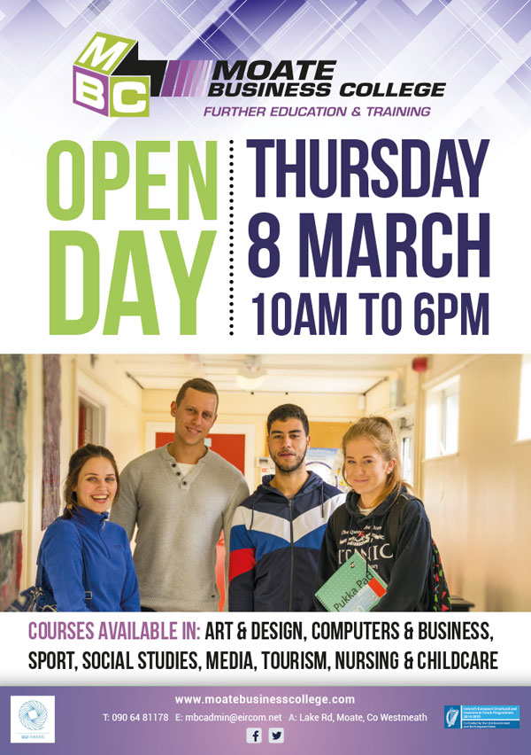 Open Day March 18